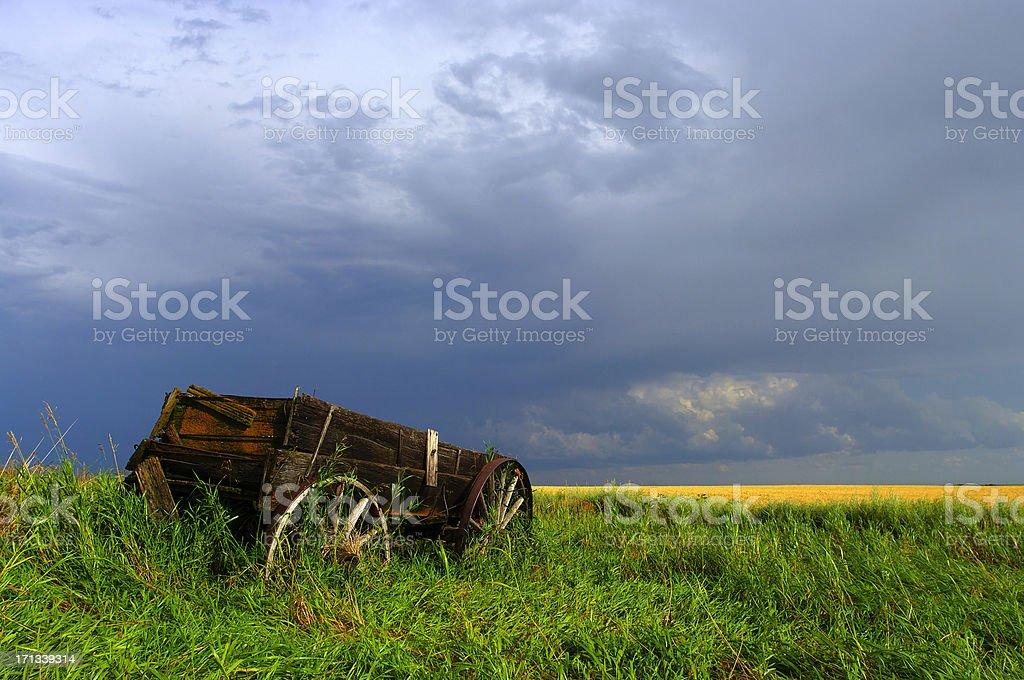 Wagon royalty-free stock photo