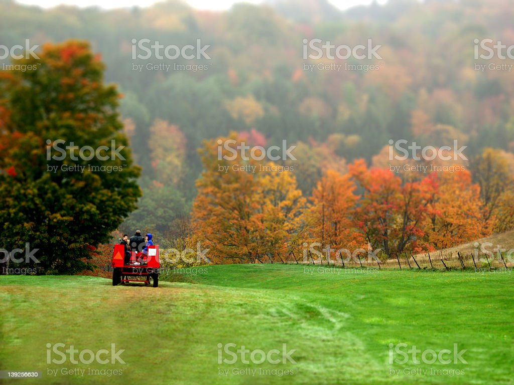 Wagon Ride stock photo