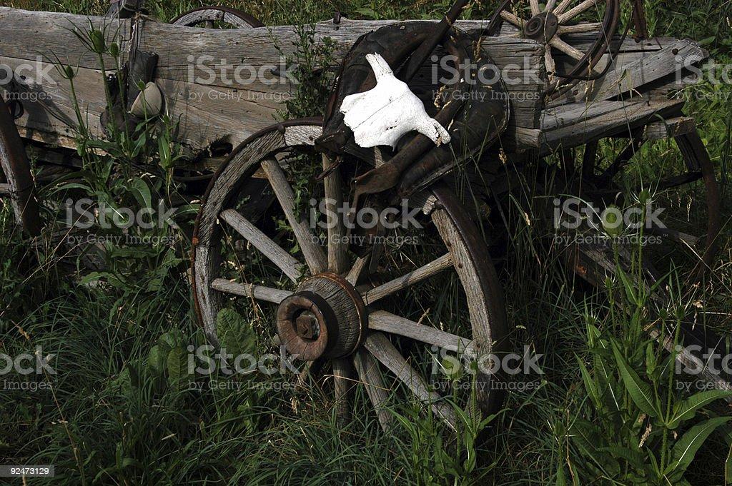Wagon Wheel 3 stock photo