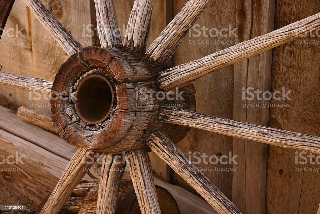 Wagon Wheel II royalty-free stock photo