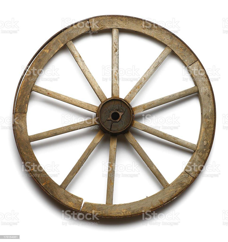 Wagon Wheel royalty-free stock photo