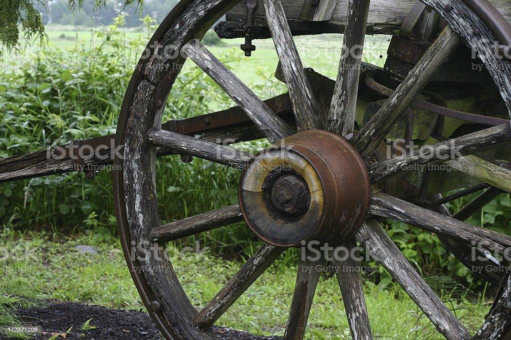 Wagon Wheel1 stock photo