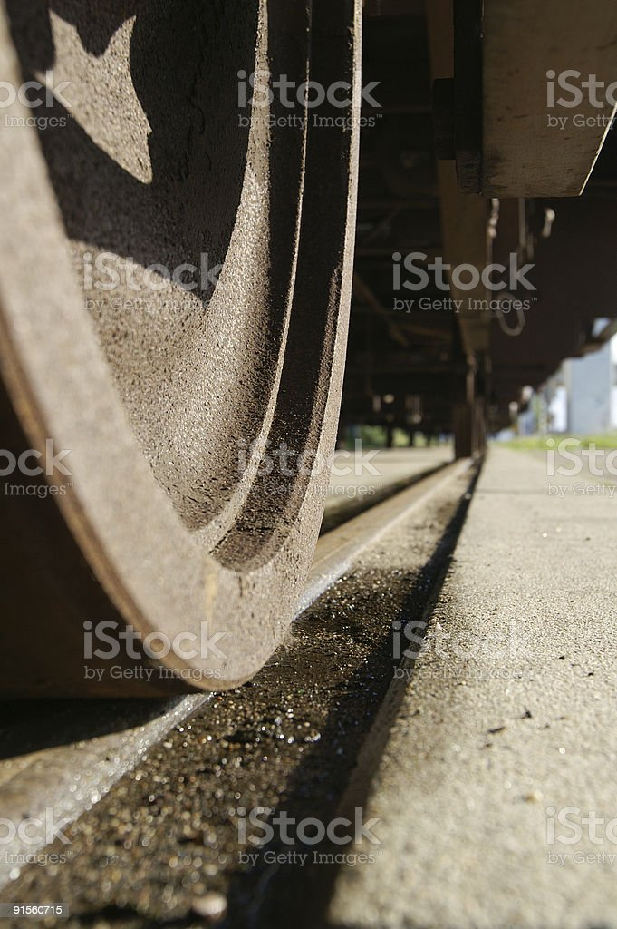 wagons and wheels stock photo