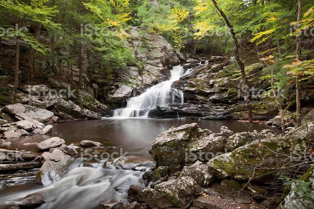 Wahconah Falls stock photo