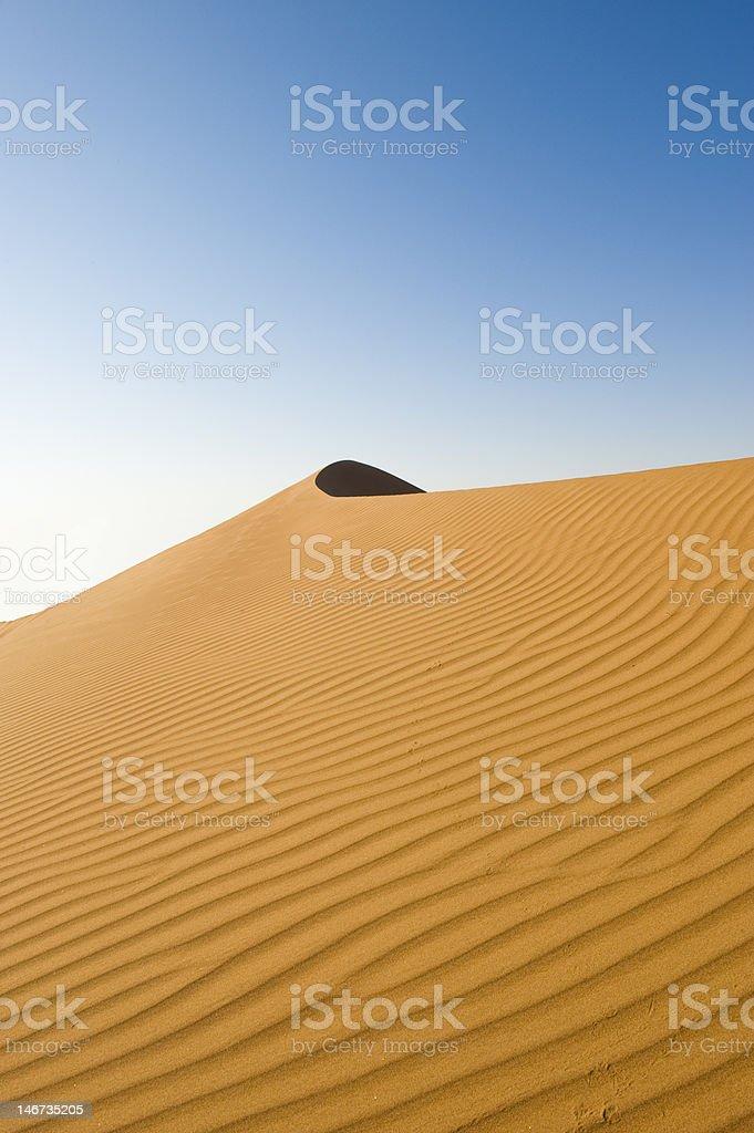 Wahiba Desert Oman royalty-free stock photo
