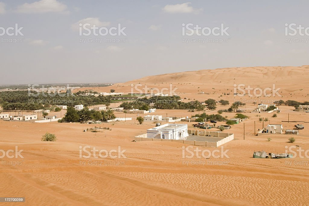 Wahiba Sands Oman royalty-free stock photo