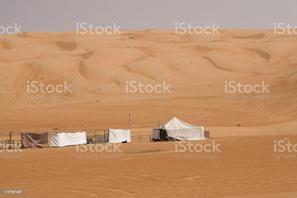 Wahiba Sands Oman stock photo