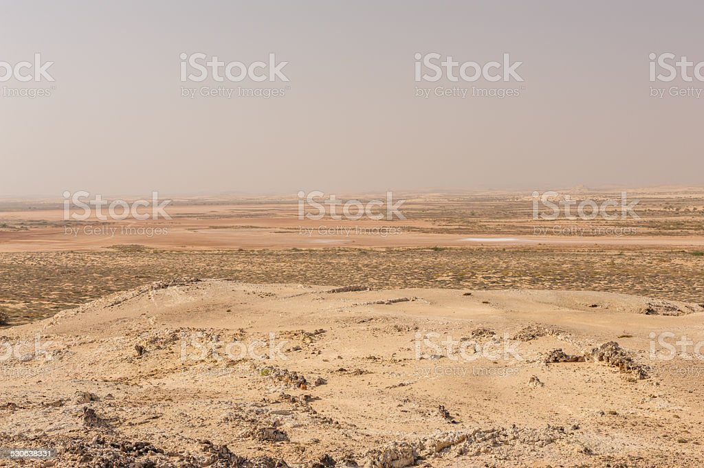 Wahiba sands stock photo