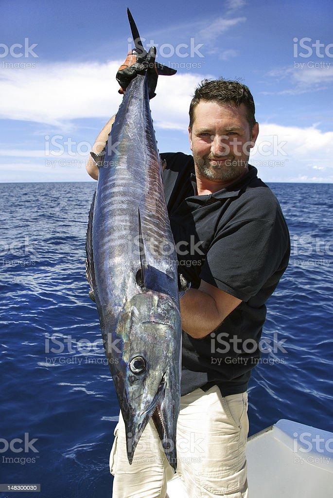 Wahoo - Scombrid fish family stock photo