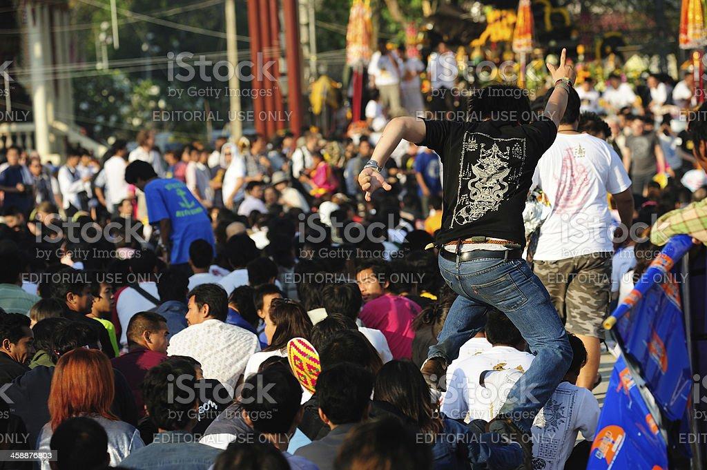 Wai khru thailand royalty-free stock photo