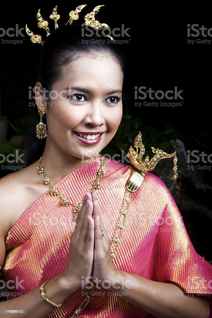 Wai royalty-free stock photo