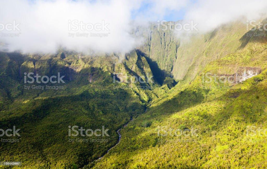 Waialeale, Kauai stock photo