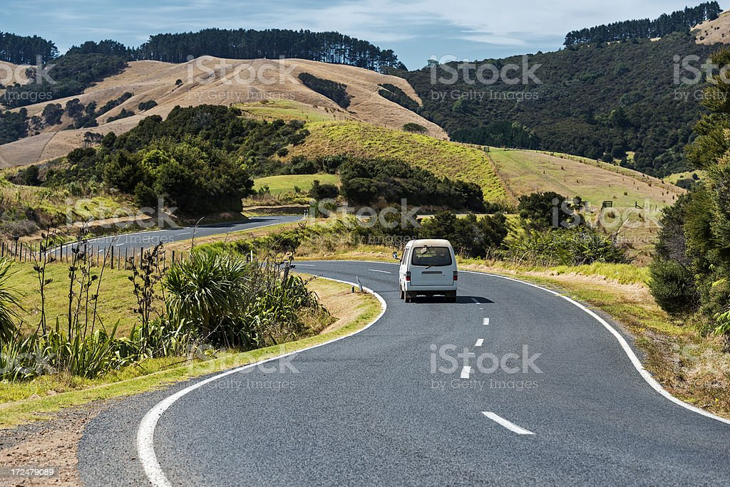 Waiheke Island New Zealand stock photo