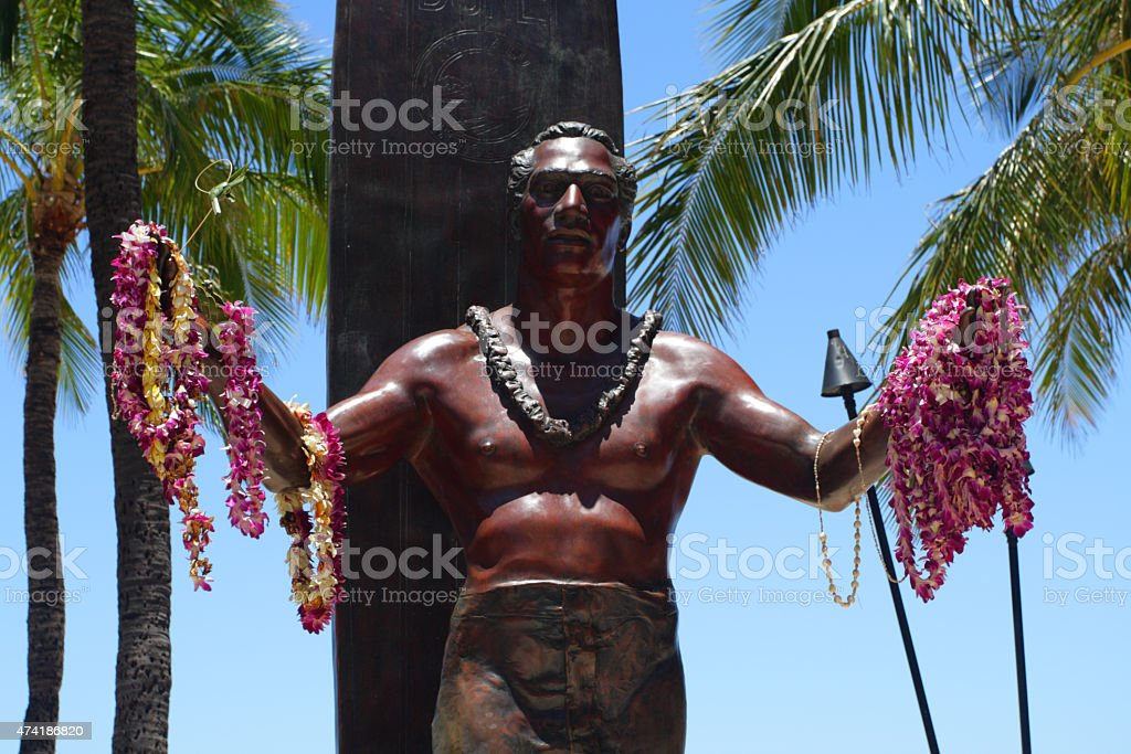 Waikiki Beach, Honolulu, Oahu, Hawaii stock photo