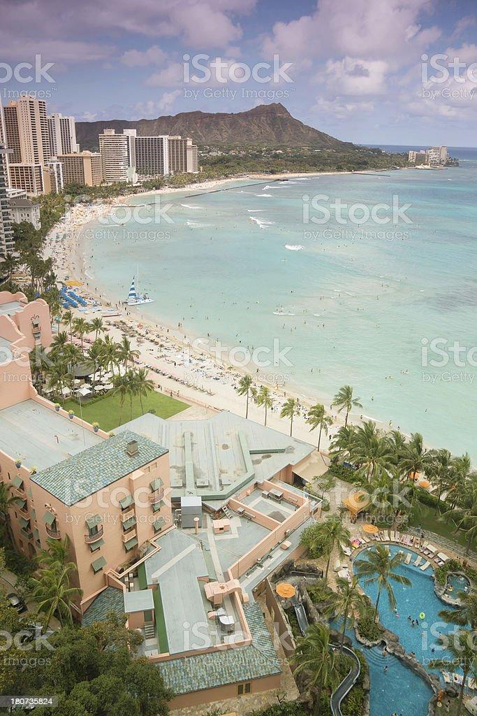 Waikiki stock photo
