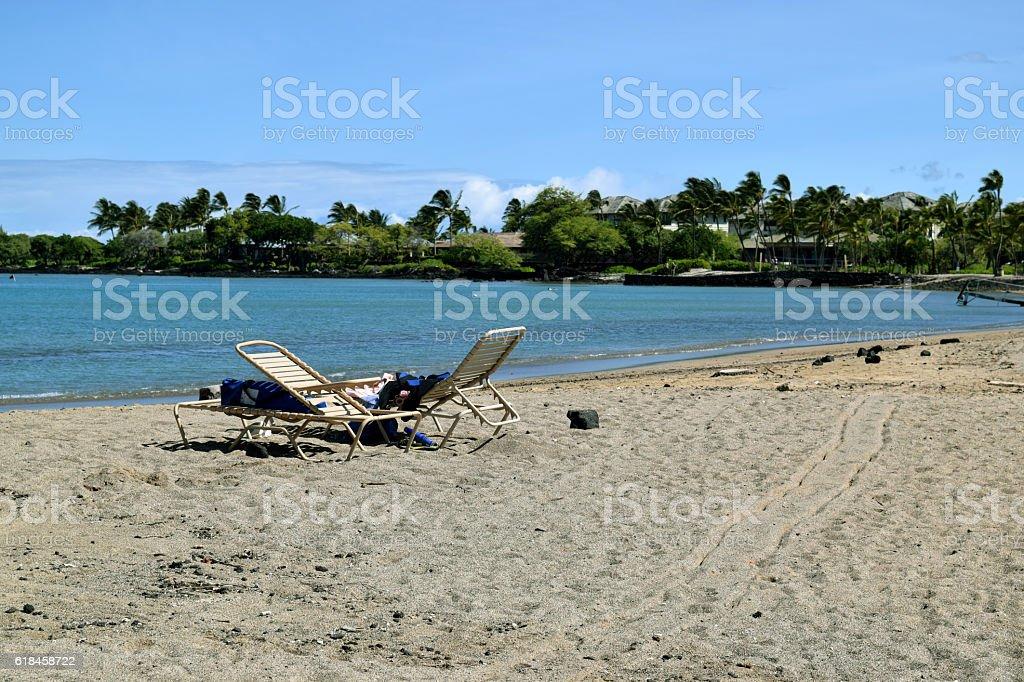 Waikoloa beach,Big Island,Hawaii stock photo
