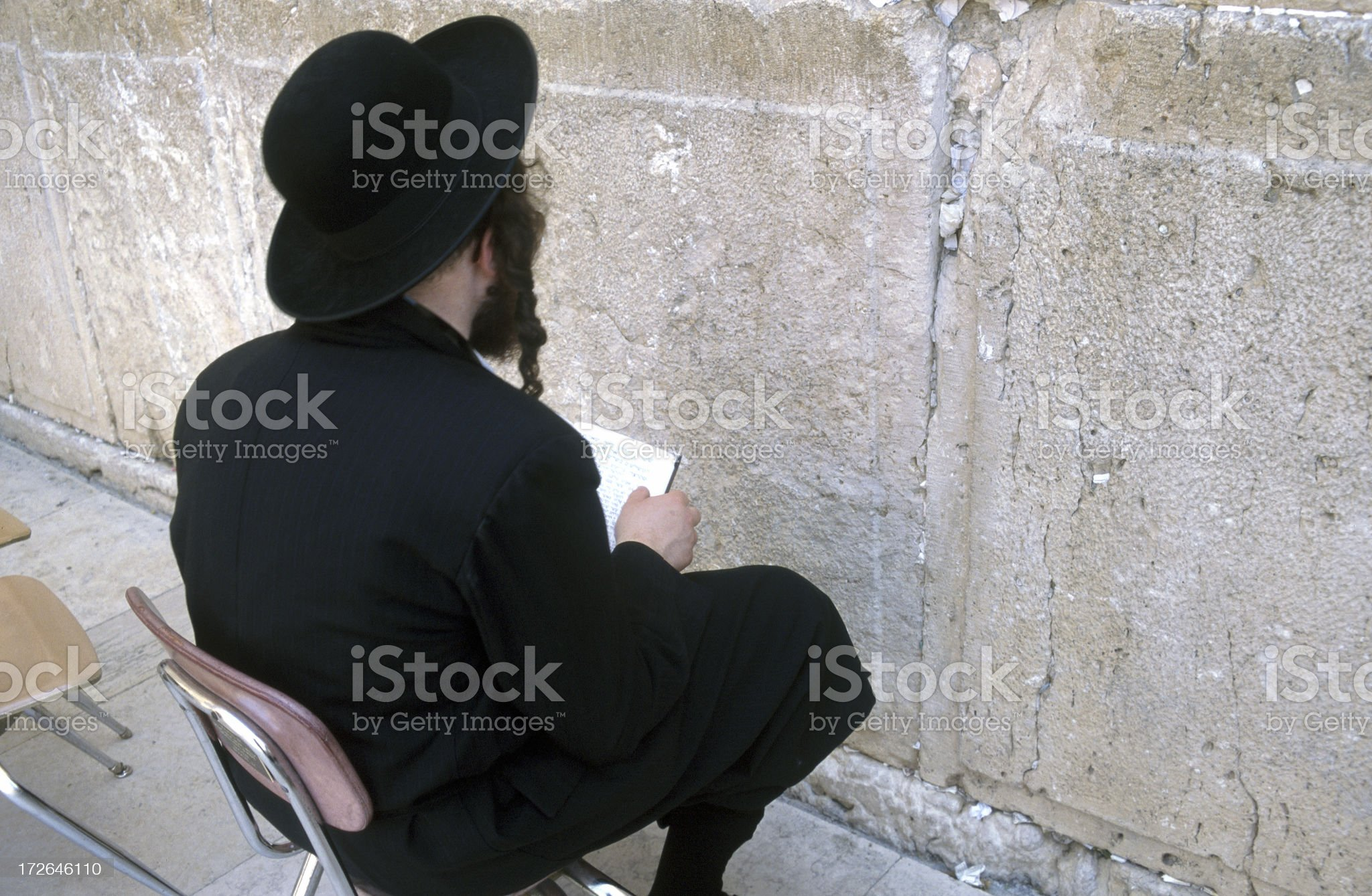 Wailing Wall Jerusalem royalty-free stock photo