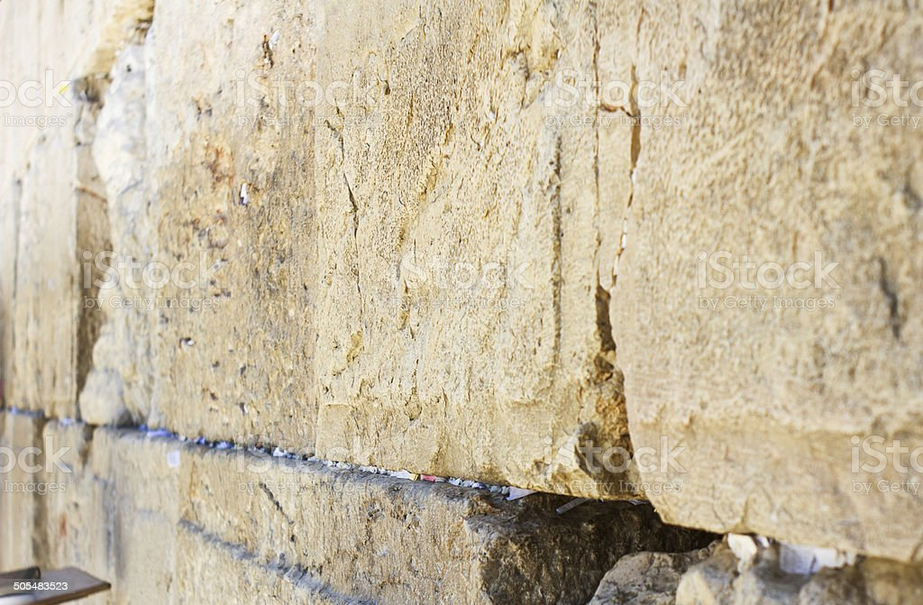 Wailing Wall . stock photo
