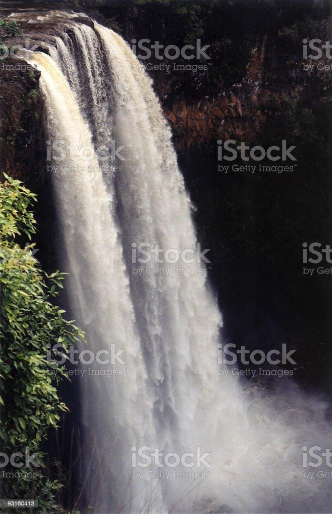 Wailua Falls stock photo