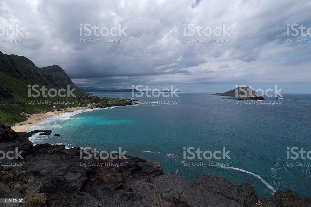 Waimanalo Bay (2) royalty-free stock photo