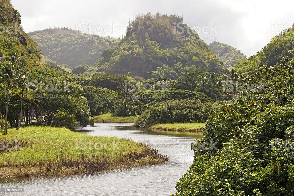 Waimea Bay royalty-free stock photo