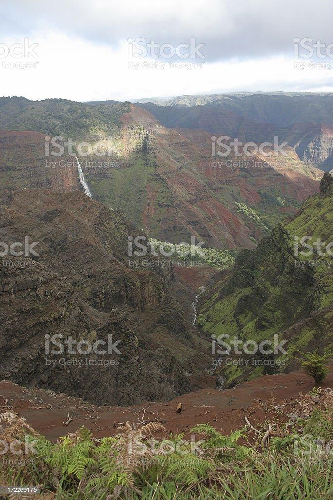 Waimea Canyon Kauai royalty-free stock photo