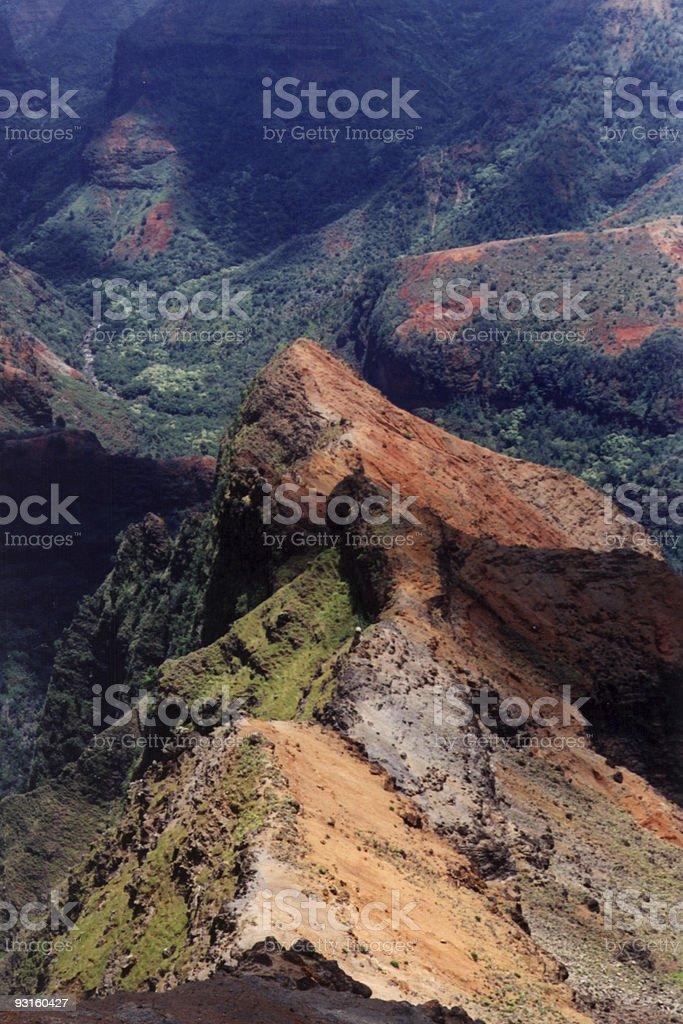 Waimea Canyon (1) stock photo