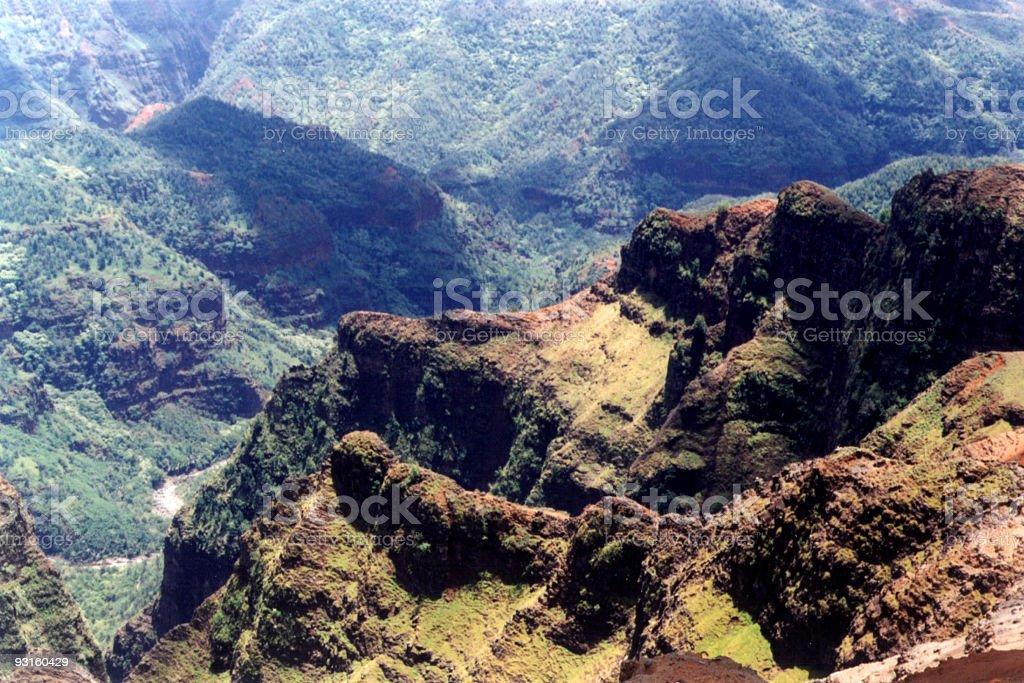 Waimea Canyon (4) stock photo