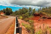 Waimea Canyon's road
