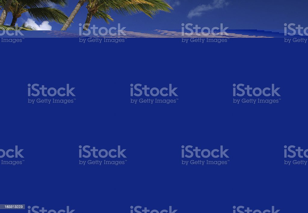 Wainapanapa black sand beach coastal on Maui Hawaii stock photo