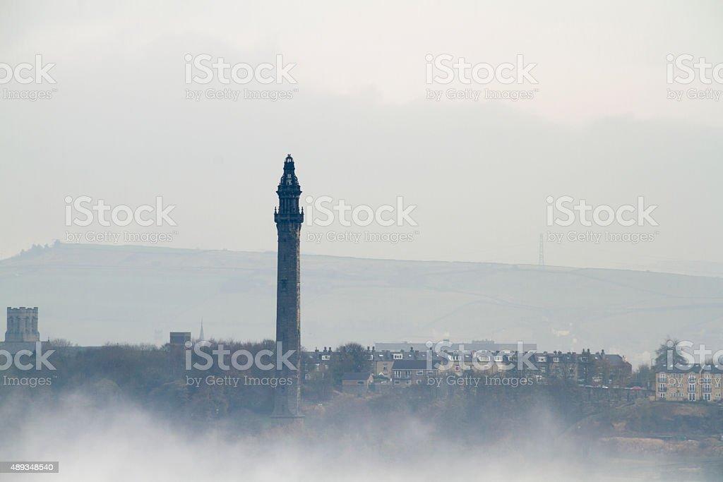 Wainhouse Tower, Halifax, stock photo