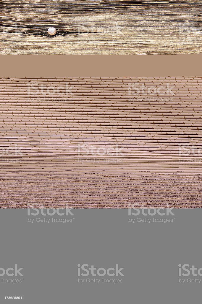 Wainscot Paneling Stairway Wooden Handrail royalty-free stock photo