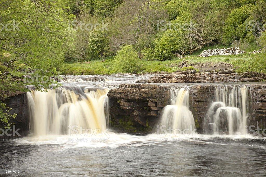 Wainwath Falls, Swaledale royalty-free stock photo