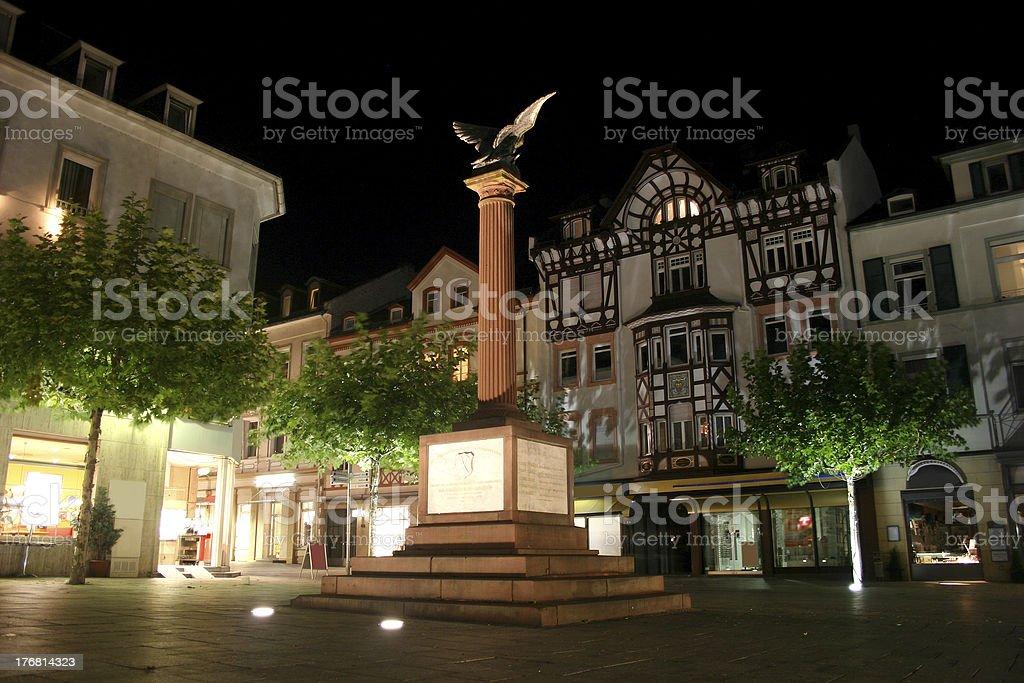 Waisenhausplatz in Bad Homburg stock photo
