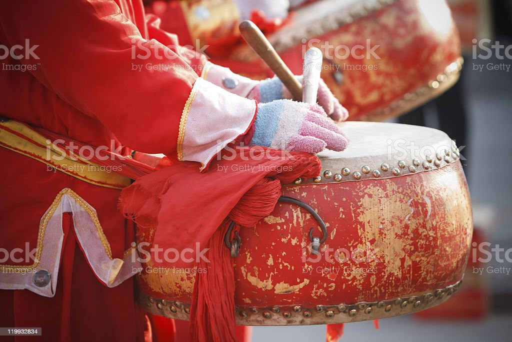 waist drum stock photo