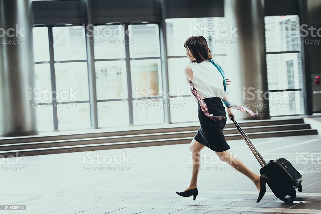Wait for me, I am on my way stock photo