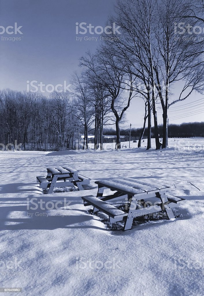 Wait until spring stock photo