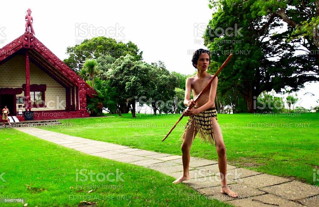 Waitangi Day - New Zealand Public Holiday stock photo