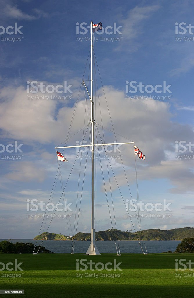 Waitangi stock photo