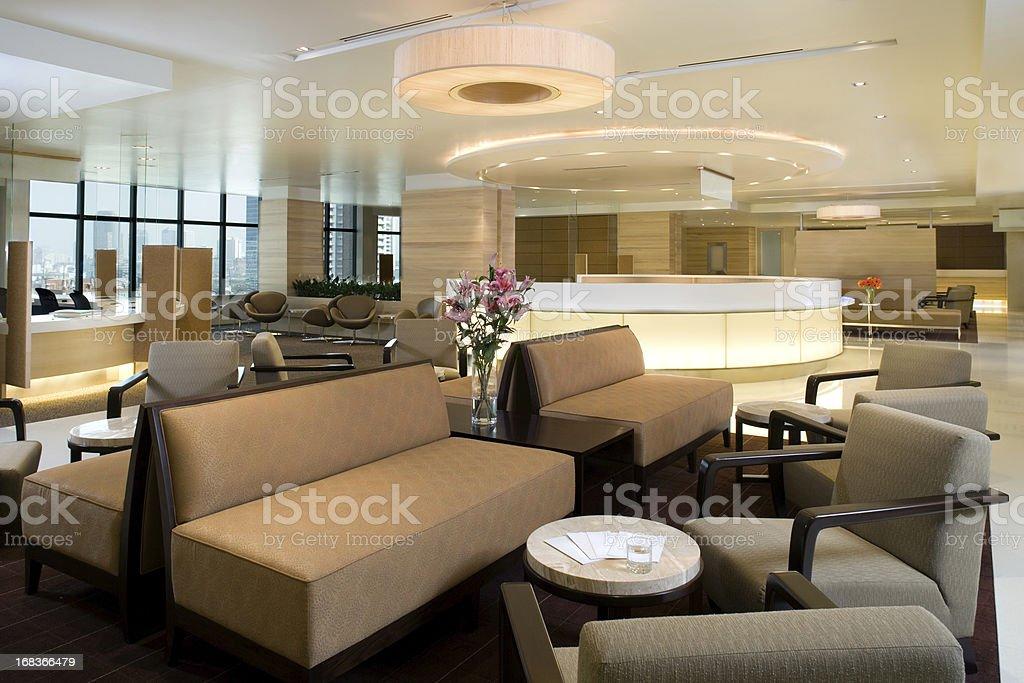 Waiting Area Interior royalty-free stock photo