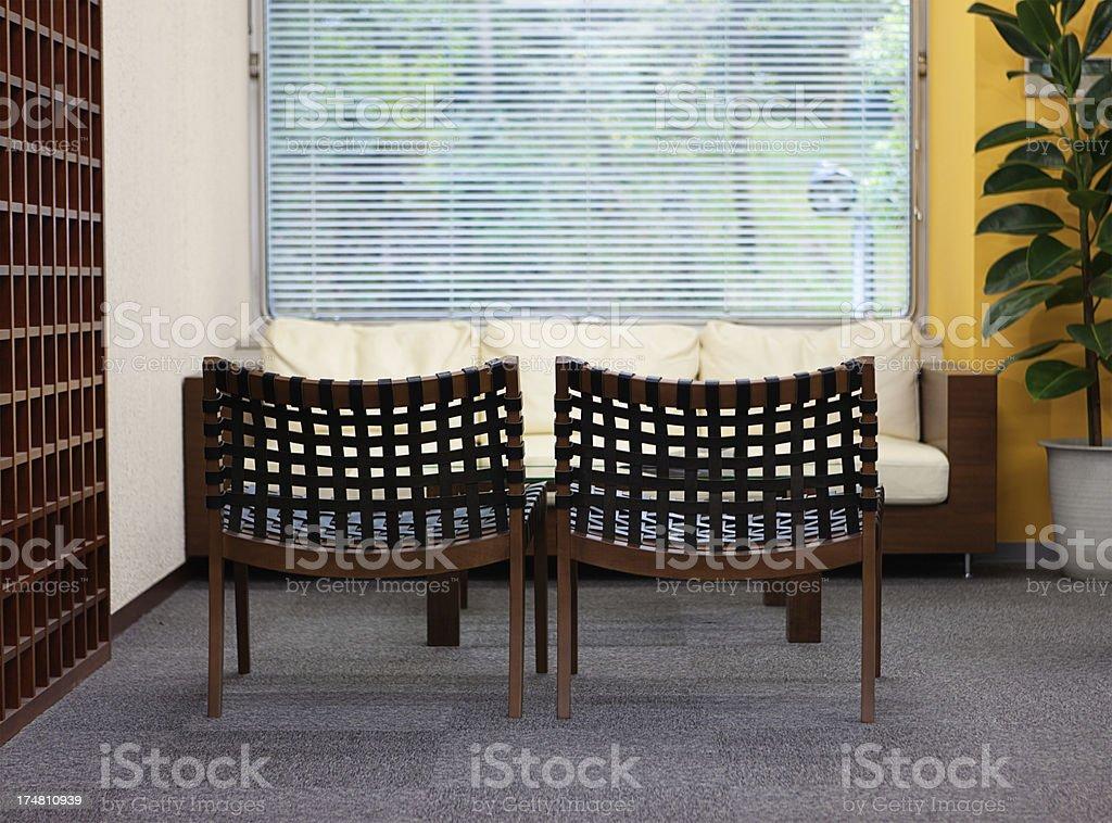 Waiting area royalty-free stock photo