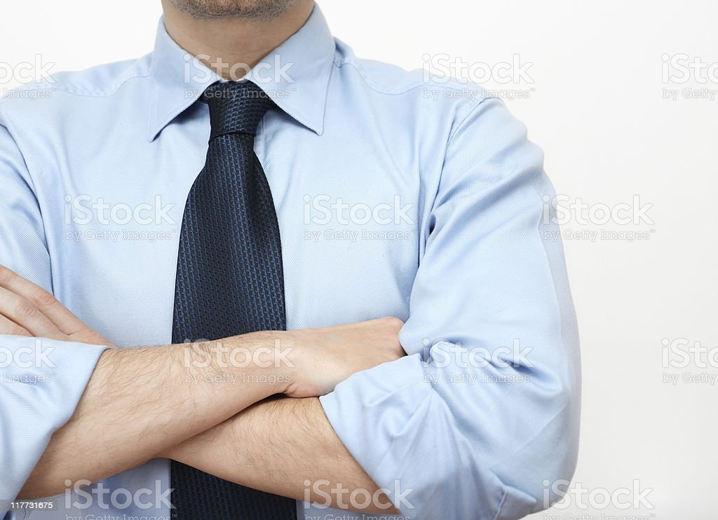 waiting businessman royalty-free stock photo