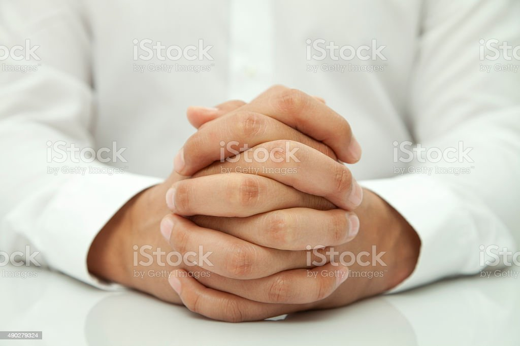 waiting for a decision stock photo