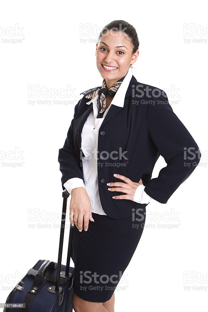 Waiting for a plane royalty-free stock photo