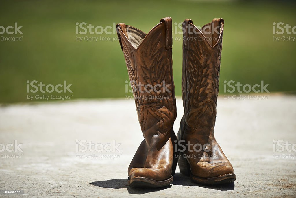 Waiting for a rider royalty-free stock photo