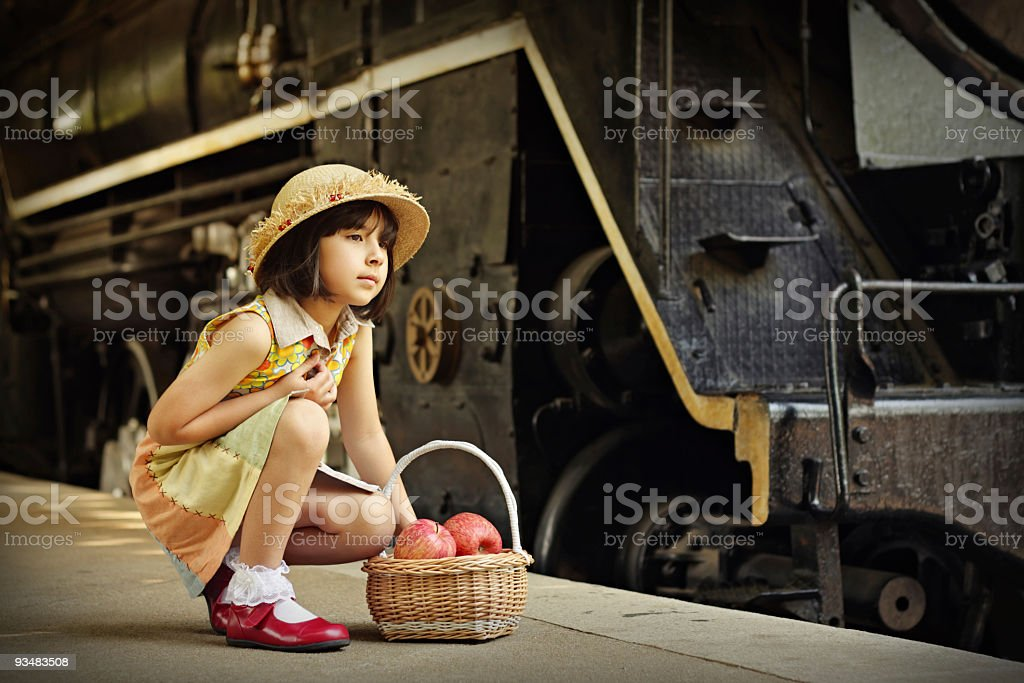 Waiting for arrivals... royalty-free stock photo