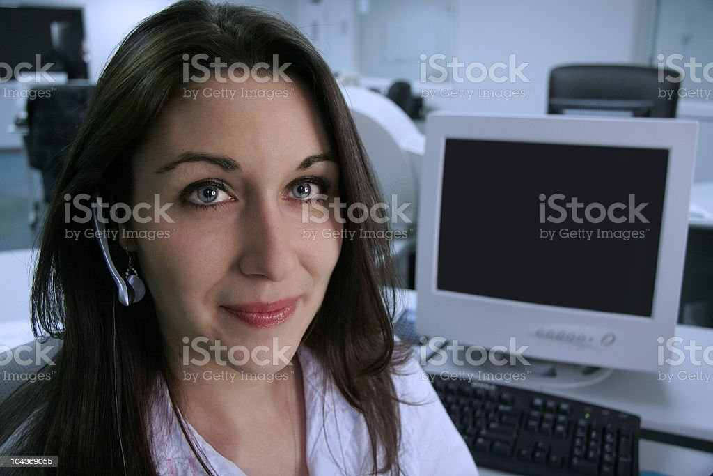 Waiting for Calls royalty-free stock photo