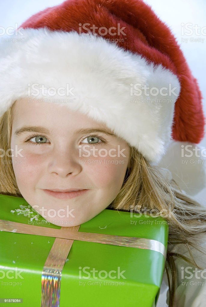 Waiting for Christmas royalty-free stock photo