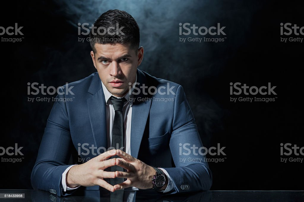Waiting for employees stock photo