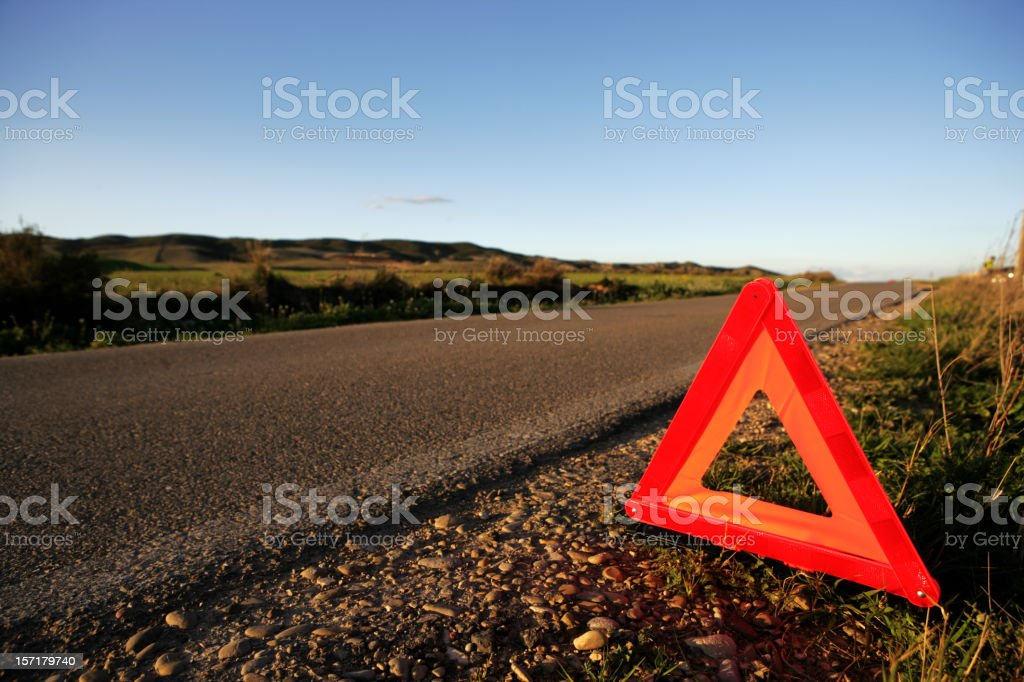 Waiting for help royalty-free stock photo